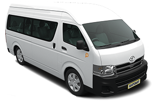 12 seater Hiace rental - Tourism , Staff Transport, Hotel Transfer, Sight-seeing, Airport Transfer, Labor or site